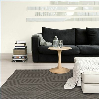 Ali Illusions Gray Area Rug Rug Size: Rectangle 5 x 8