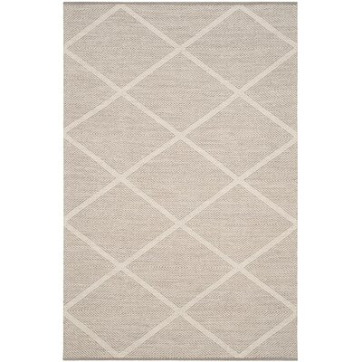 Shevchenko Place Hand-Woven Cream Area Rug Rug Size: Square 6