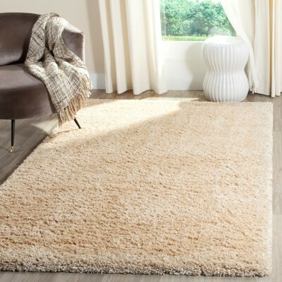 Hornell Light Beige Area Rug Rug Size: Rectangle 67 x 92
