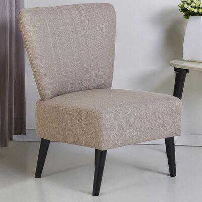 Colman Side Chair Upholstery: Toffee