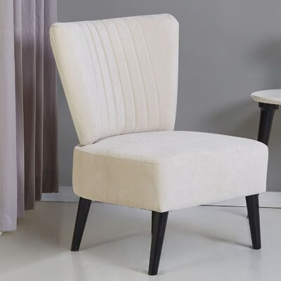 Colman Side Chair Upholstery: Beige