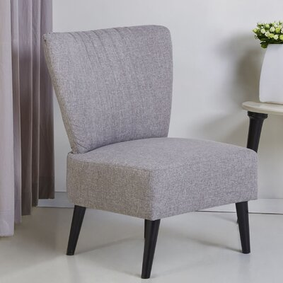 Colman Side Chair Upholstery: Ash