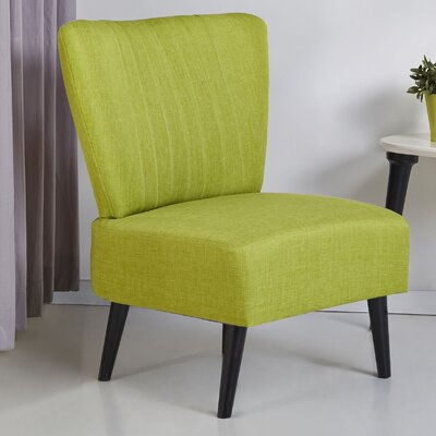 Colman Side Chair Upholstery: Lime