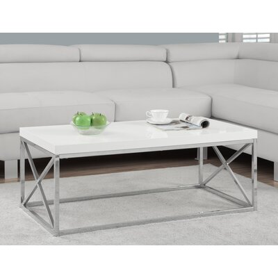 Lexington Coffee Table Color: White