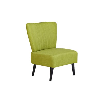 Sansone Side Chair Upholstery: Lime