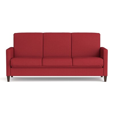 Sevier Futon Sleeper Sofa Color: Red