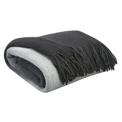 Scarbrough Throw Color: Black