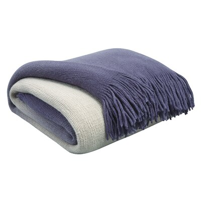 Scarbrough Throw Color: Indigo