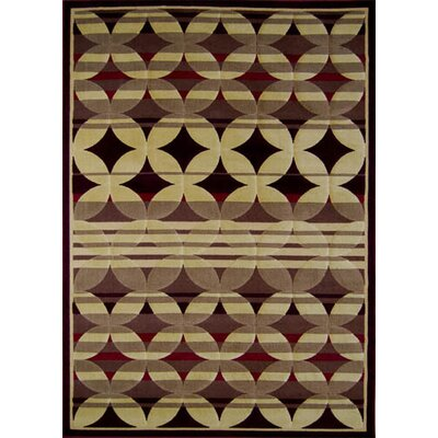 Harr Red Geometric Rug