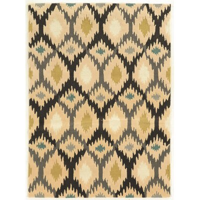 Askins Hand-Tufted Grey Area Rug Rug Size: 5 x 7