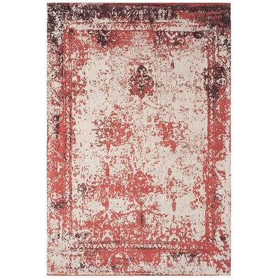 Sartori Classic Vintage Red Area Rug Rug Size: Rectangle 67 x 92