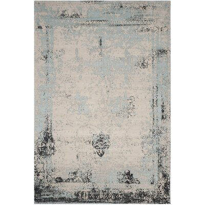 Sarvis Classic Vintage Blue Area Rug Rug Size: Rectangle 8 x 11