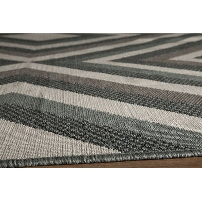 Wexler Indoor/Outdoor Area Rug Rug Size: Rectangle 53 x 76