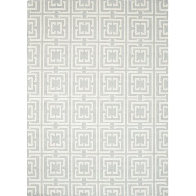 Hudson Light Blue Area Rug Rug Size: Rectangle 8 x 10