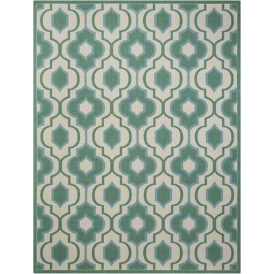 Palisades Jade Indoor/Outdoor Area Rug Rug Size: 10 x 13