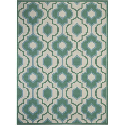 Palisades Jade Indoor/Outdoor Area Rug Rug Size: 79 x 1010
