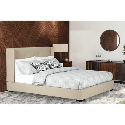 Aminta Upholstered Platform Bed Size: King