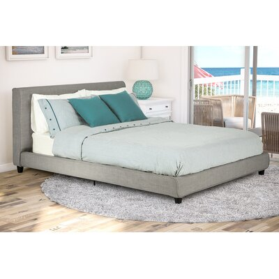Ammerman Upholstered Platform Bed Size: King