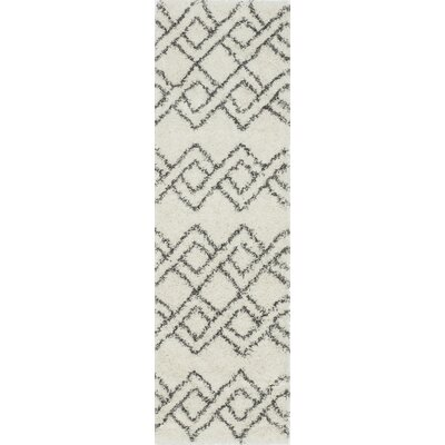 Seabolt Ivory Area Rug Rug Size: Rectangle 53 x 76