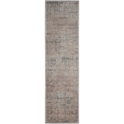 Simms Gray Area Rug Rug Size: Rectangle 2 x 59