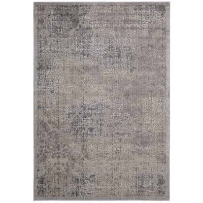 Simms Gray Area Rug Rug Size: Rectangle 67 x 96