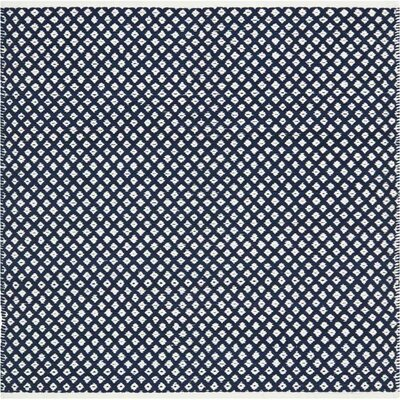 Ash Navy Area Rug Rug Size: Square 6