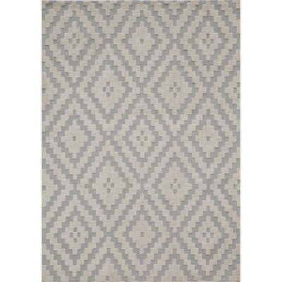 Richie Hand-Tufted�Steel Area Rug Rug Size: Rectangle 76 x 96