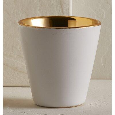 Ceramic Votive Cup (Set of 6) Color: Gold VKGL6804 34272561