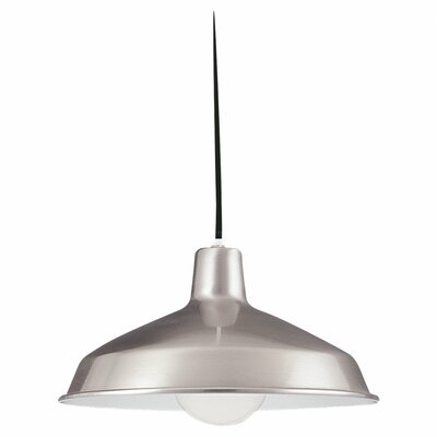 Henn 1-Light Bowl Pendant Finish: Brushed Stainless Steel