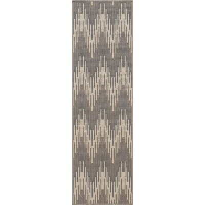 Wexler Hand-Woven Ivory Area Rug Rug Size: Runner 23 x 76