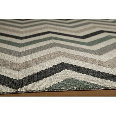 Wexler Hand-Woven Sage Area Rug Rug Size: Rectangle 18 x 37