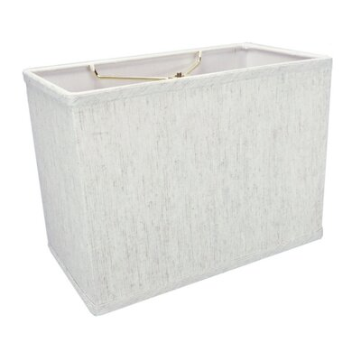 12 Linen Rectangular Lamp Shade