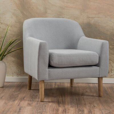 Slone Armchair Upholstery: Light Grey