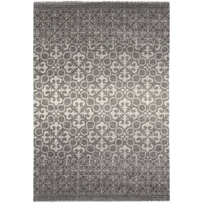 Upton Cheyney Village Gray Area Rug Rug Size: Rectangle 52 x 76