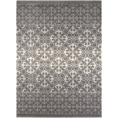 Upton Cheyney Village Gray Area Rug Rug Size: Rectangle 79 x 108