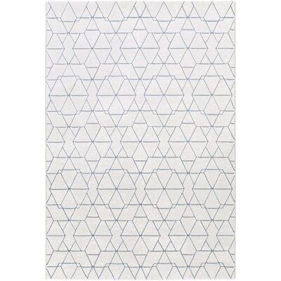 Mcdowell White/Gray Area Rug Rug Size: Rectangle 2 x 3