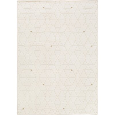 Mcdowell Neutral/Brown Area Rug Rug Size: Rectangle 53 x 76