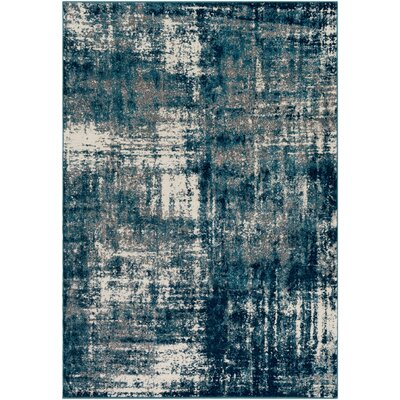 Shuff Blue Area Rug Rug Size: Rectangle 2 x 3