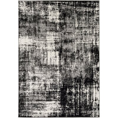 Shuff Charcoal/Black Area Rug Rug Size: Rectangle 2 x 3