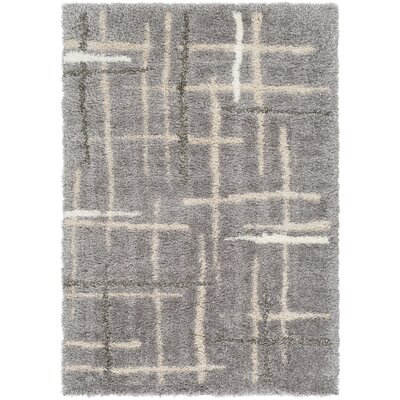 Sewell Gray/Beige Area Rug Rug Size: Rectangle 5 x 76