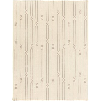 Donley Beige Area Rug Rug Size: Rectangle 8 x 11