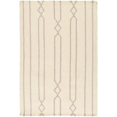 Donley Beige Area Rug Rug Size: Rectangle 36 x 56