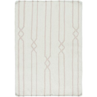 Donley Gray/Sea Foam Geometric Area Rug Rug Size: 36 x 56