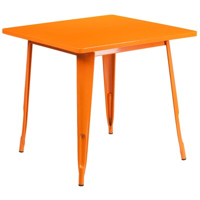 Auld Coffee Table Color: Orange