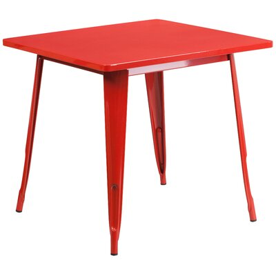 Auld Coffee Table Color: Red