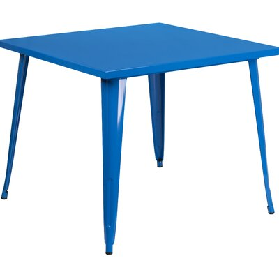Auld Bistro Table Finish: Blue