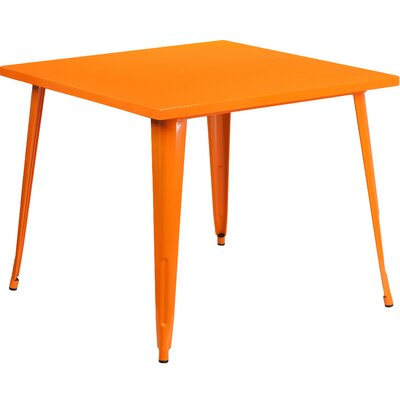 Auld Bistro Table Finish: Orange