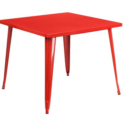 Auld Bistro Table Finish: Red