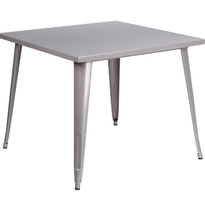 Auld Bistro Table Finish: Silver