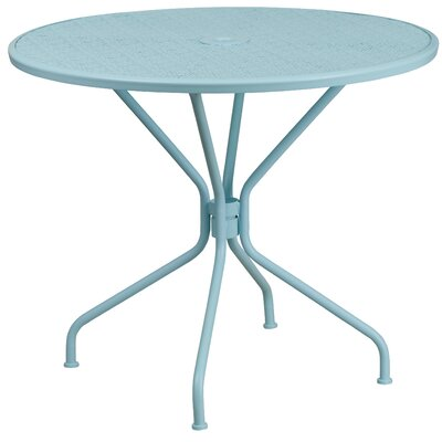 Aurigae Dining Table Finish: Sky Blue